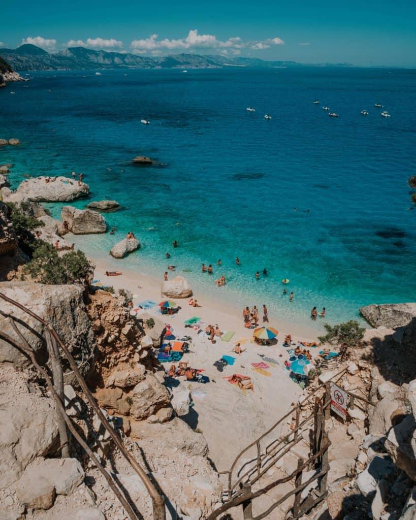 sardinia best beaches cala goloritze