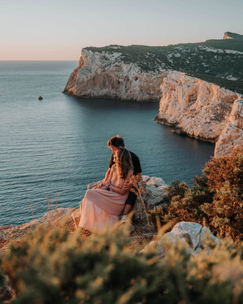capo caccia sunset spot Sardinia guide