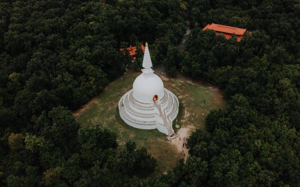 Zalaszántó stupa Balaton top things to do