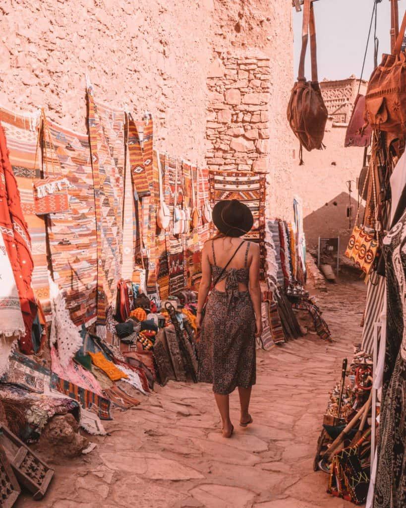 ait ben haddou maroko atrakcje