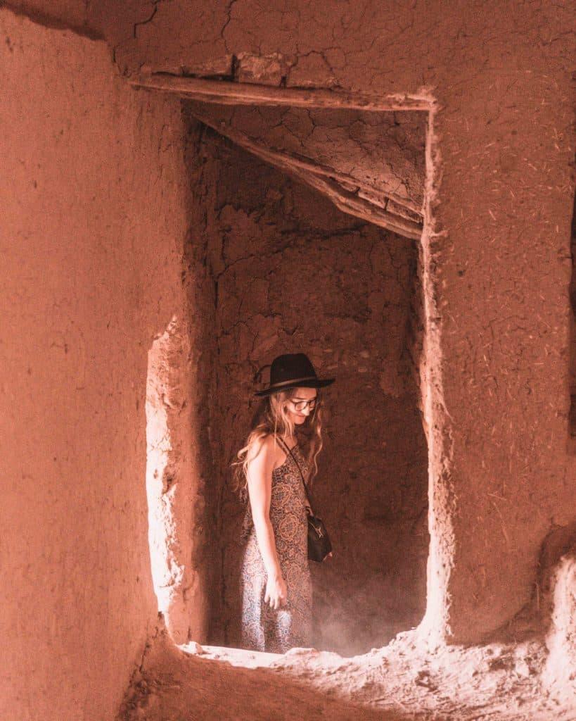 dziewczyna ait ben haddou maroko