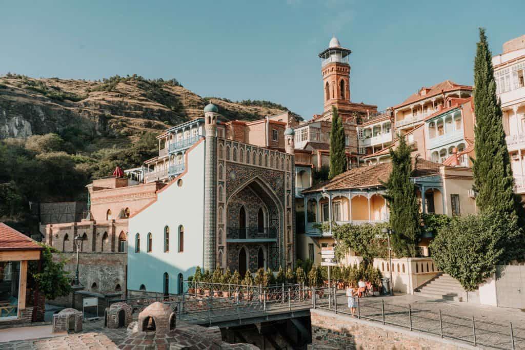 royal baths orbeliani baths co zobaczyć w tbilisi gruzja