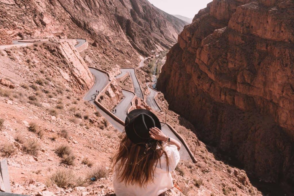 dades gorge najładniejsza droga w Maroko