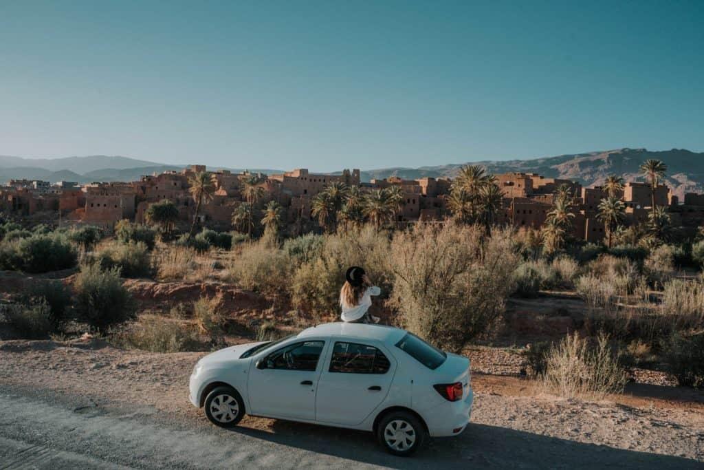 Afryka - Maroko samochodem ouarzazate