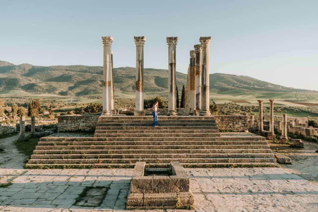 ruiny w volubilis maroko co zobaczyć