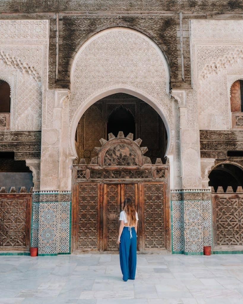 al-attarine madrasa fez co zobaczyć