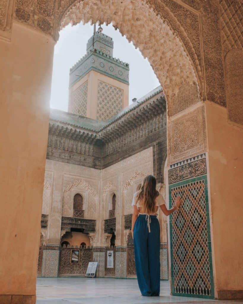 madrasa al-attari fez przewodnik