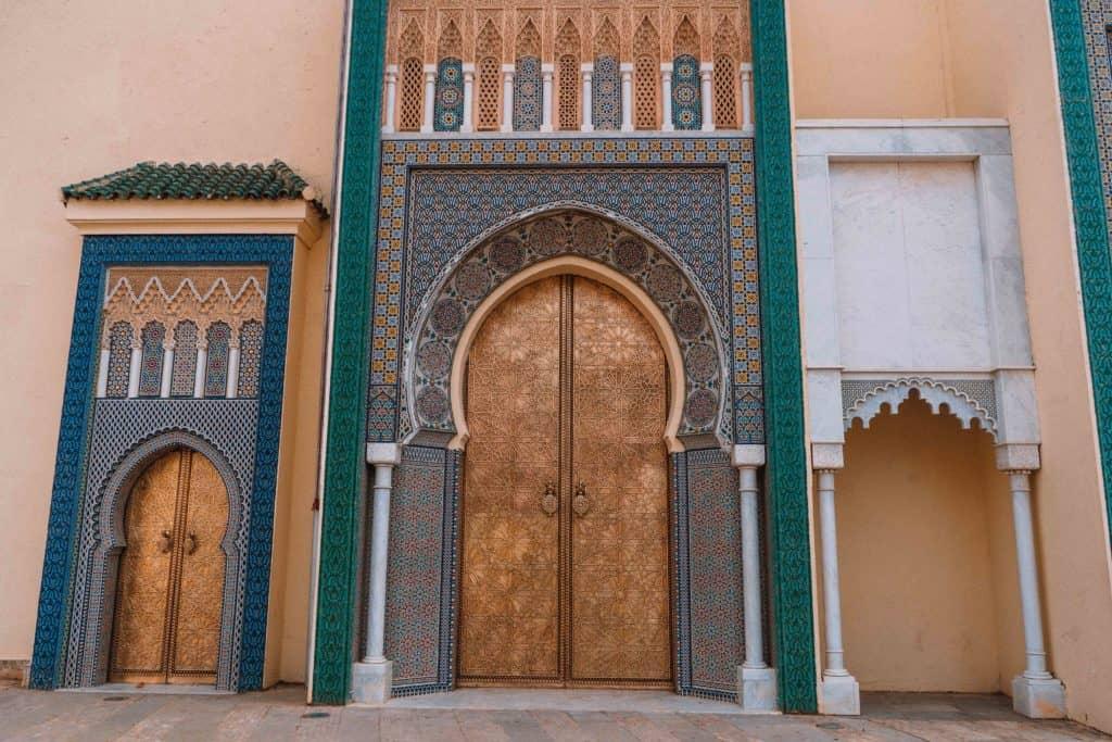 drzwi royal palace fez przewodnik