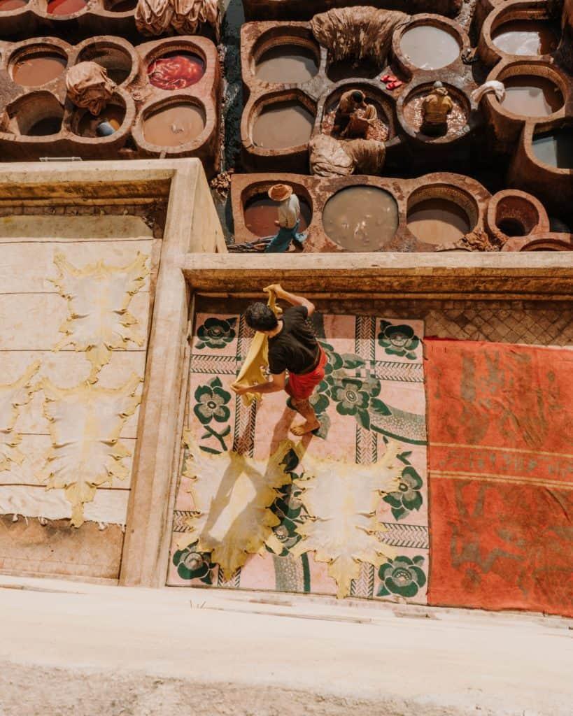 garbarnia chouara maroko co zobaczyć
