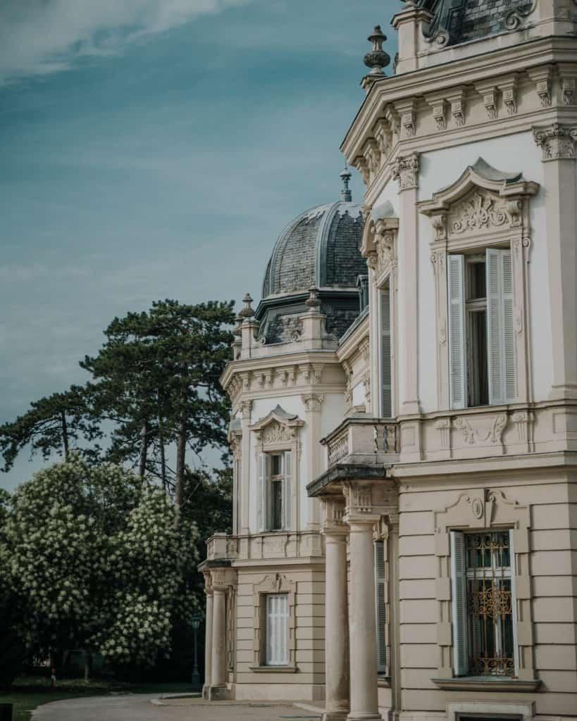 palace keszthely balaton hungary