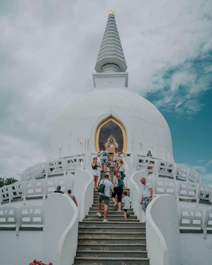 Zalaszántó stupa balaton what to see