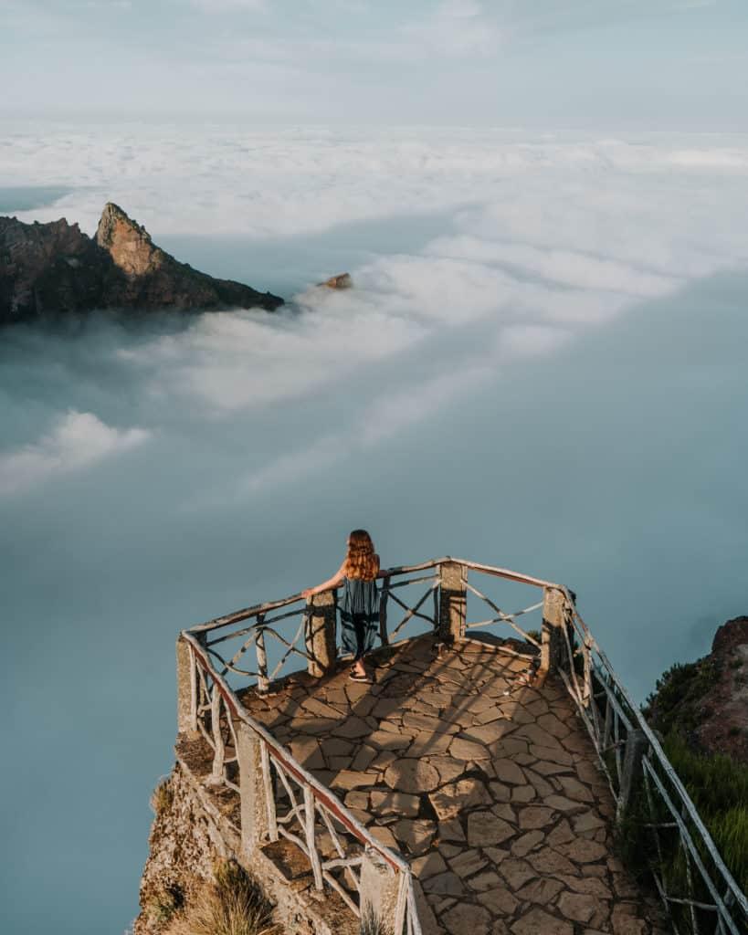 miradouro do ninho da manta sunset Madeira best hikes