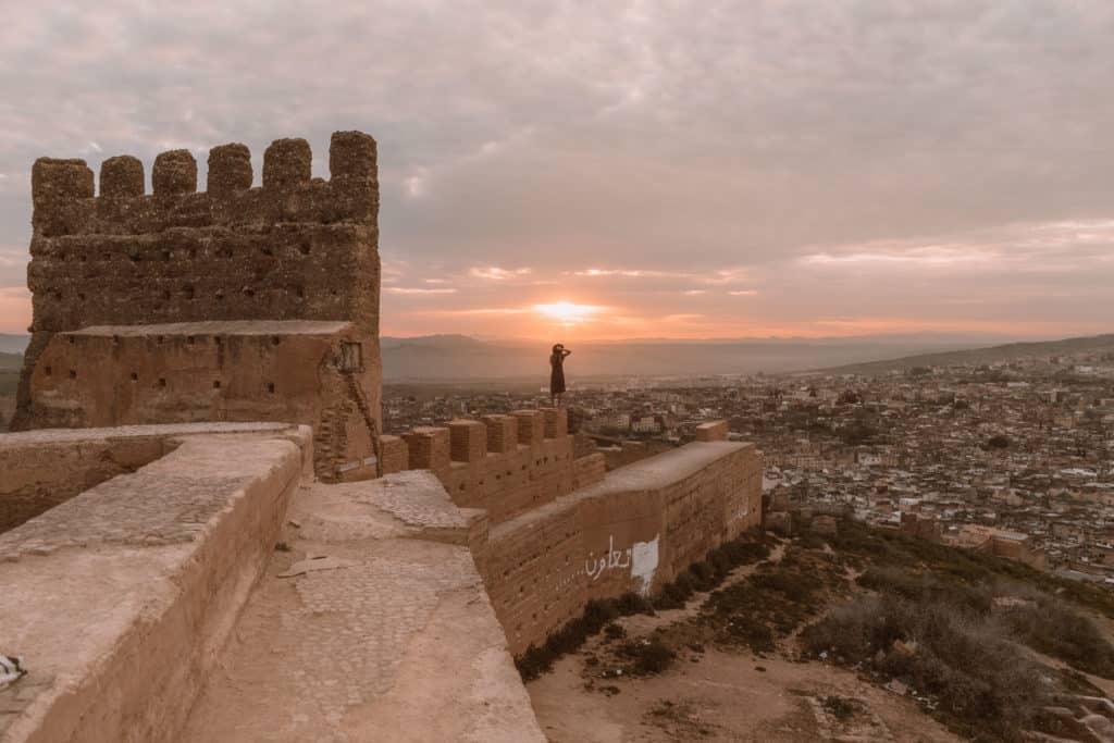 mury miasta wschód słońca fez co zobaczyć maroko