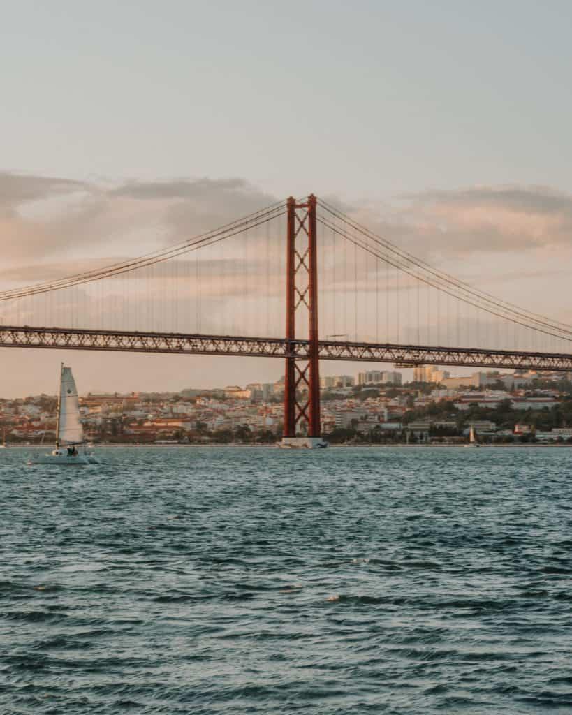 widok na most 25 kwietnia lizbona punkty widokowe