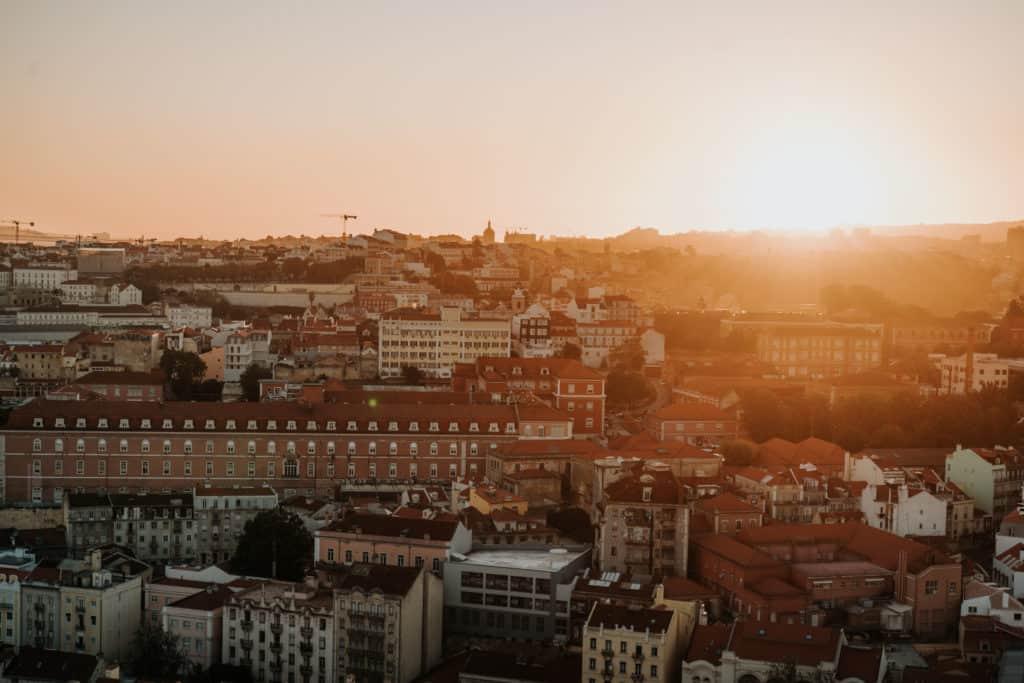 najlepsze punkty widokowe w lizbonie