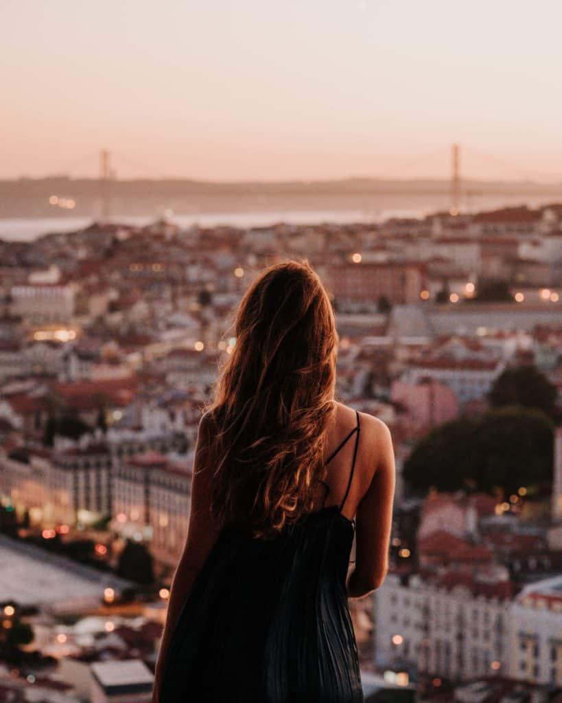 światła miasta lizbona najlepsze punkty widokowe