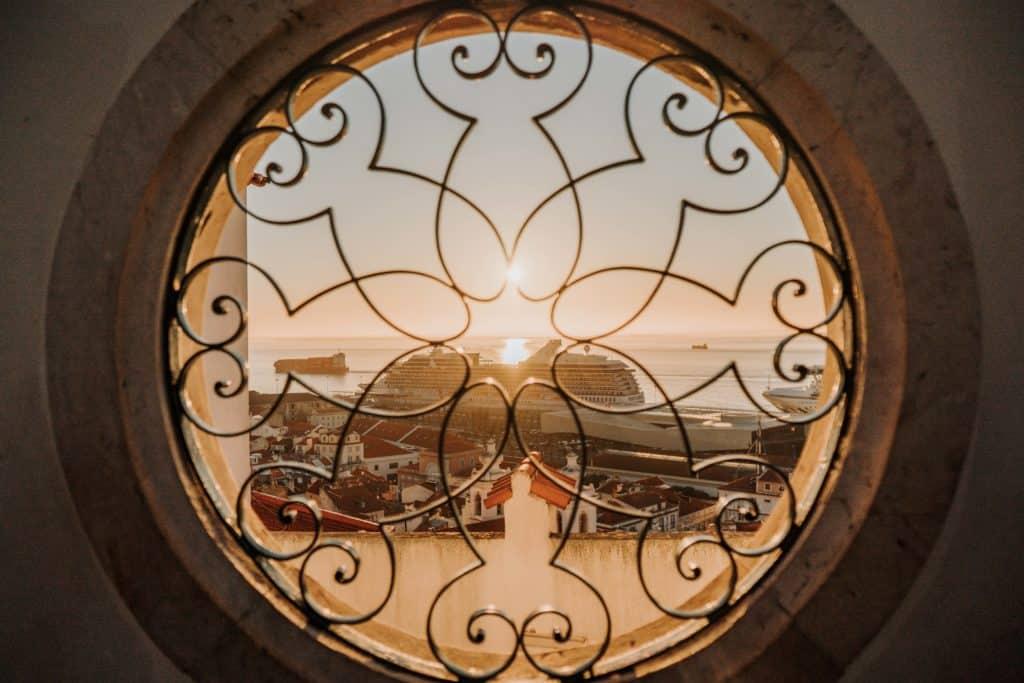 najlepsze punkty widokowe w Lizbonie portugalia