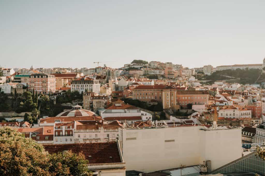 miradouro san pedro de Alcantara najlepsze punkty widokowe w lizbonie