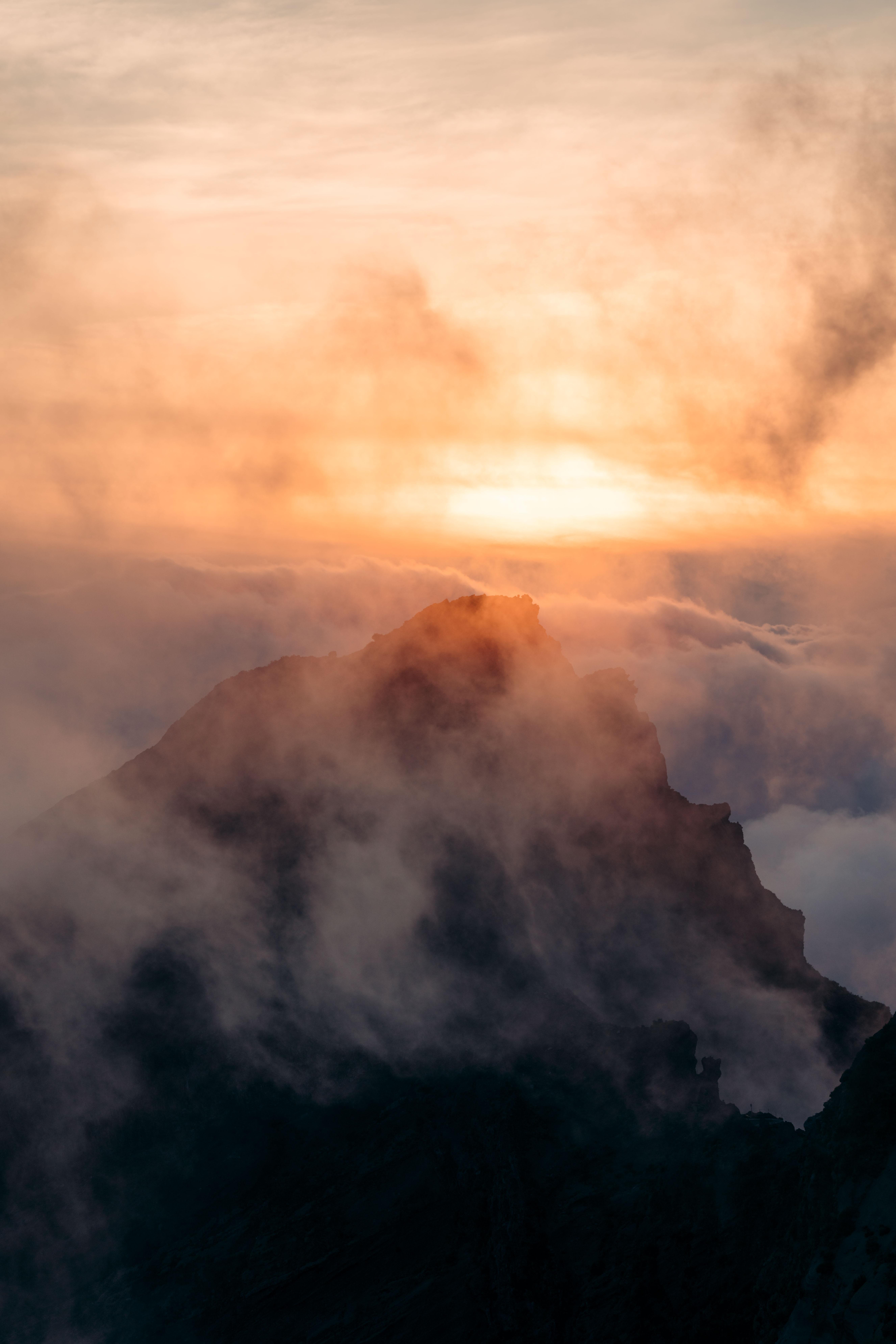 pico do arieiro zachód słońca na maderze