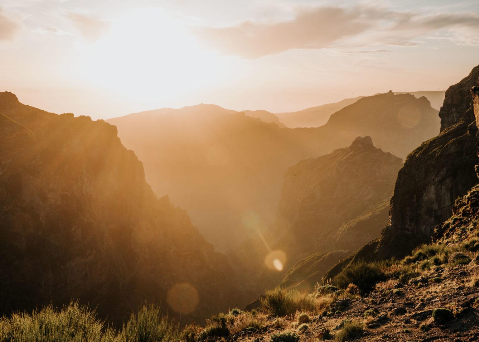 gdzie na zachód słońca na maderze