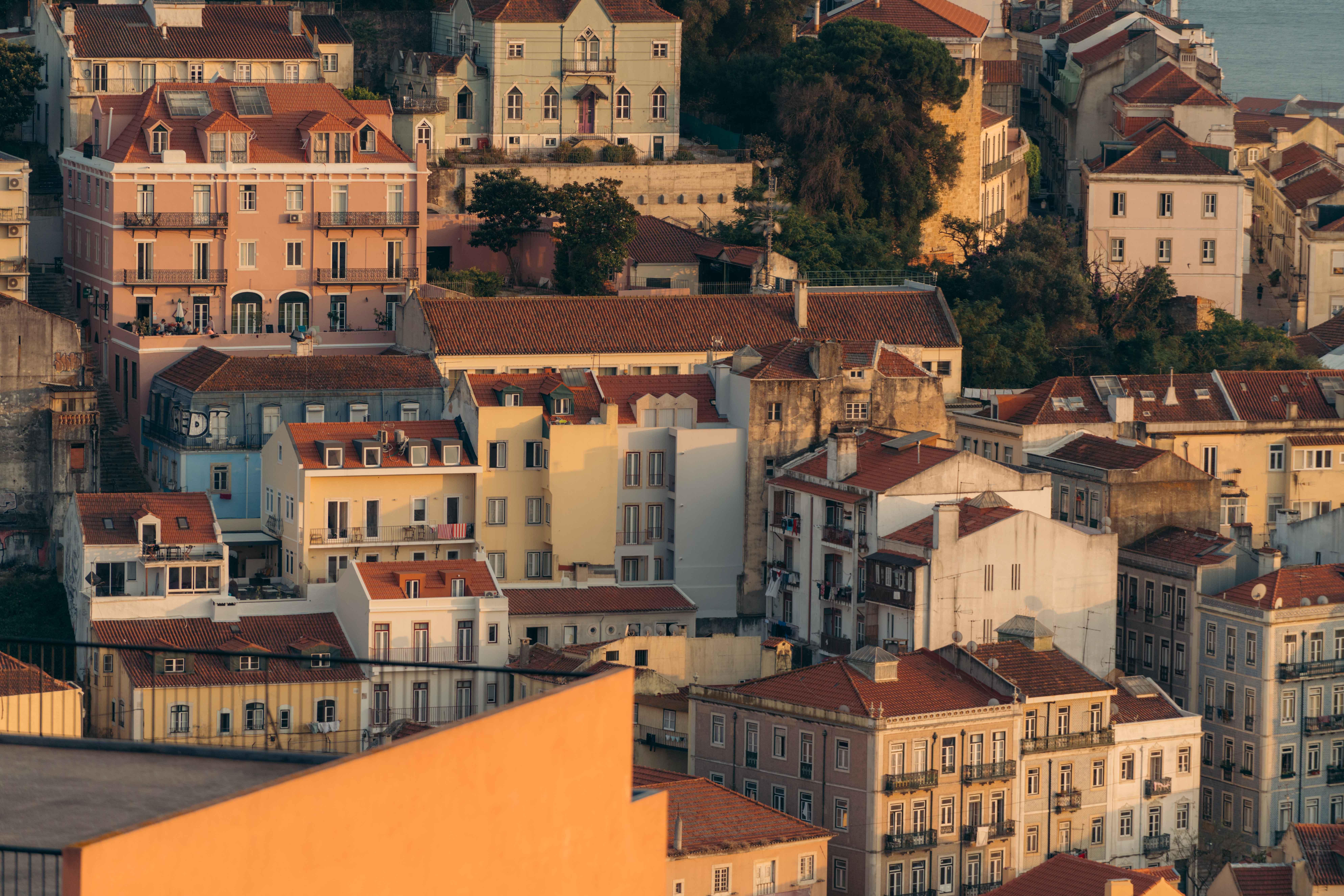 gdzie zjeść w Lizbonie panorama Lizbony