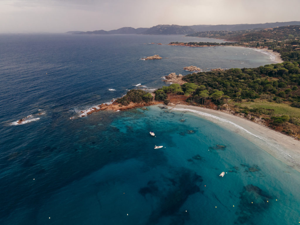 palombaggia najlepsze plaże na korsyce korsyka