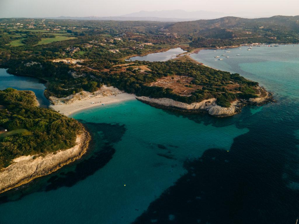 plage du petit sperone bonifacio korsyka najlepsze plaże na korsyce