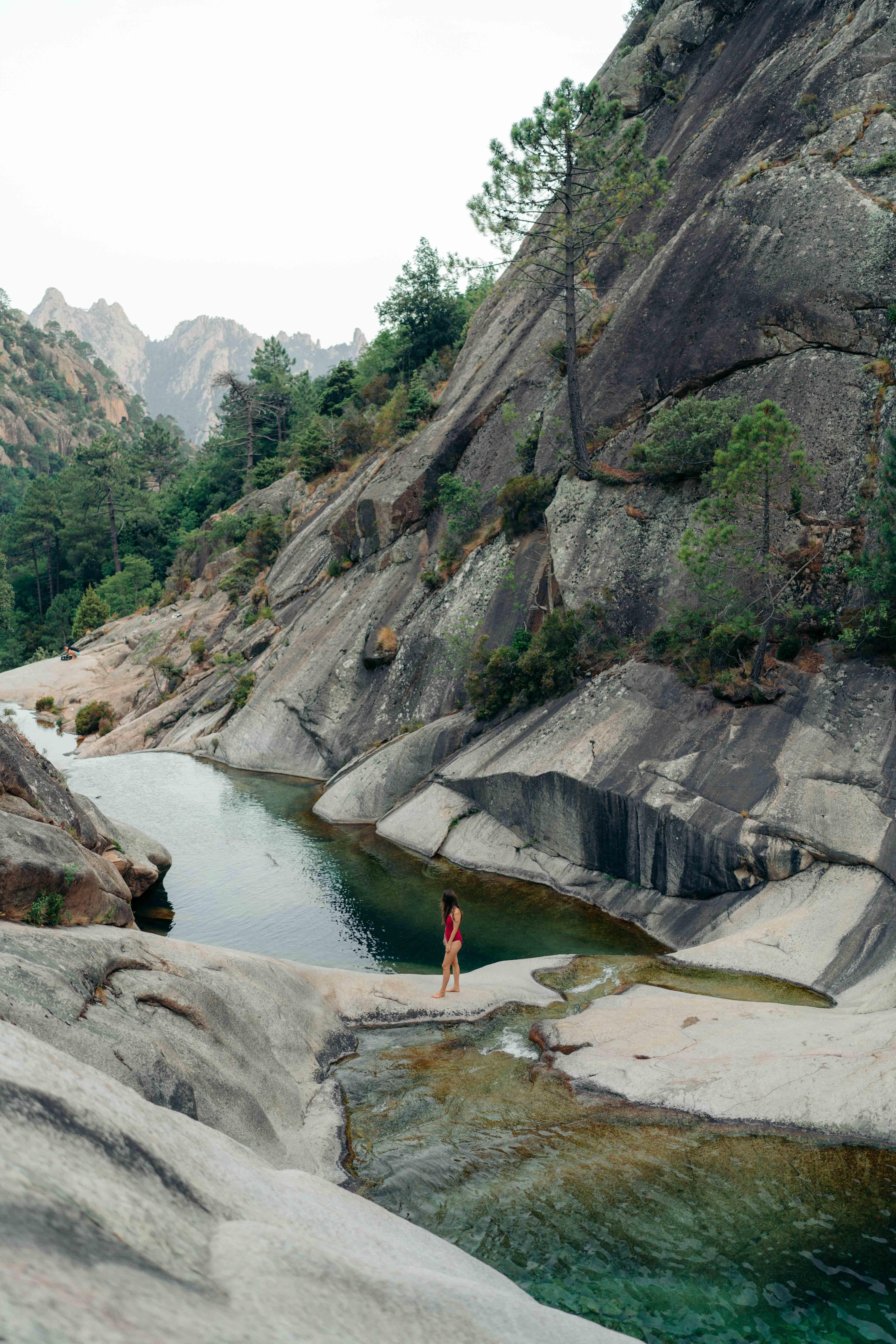 cascades de purcaraccia korsyka najlepsze miejsca