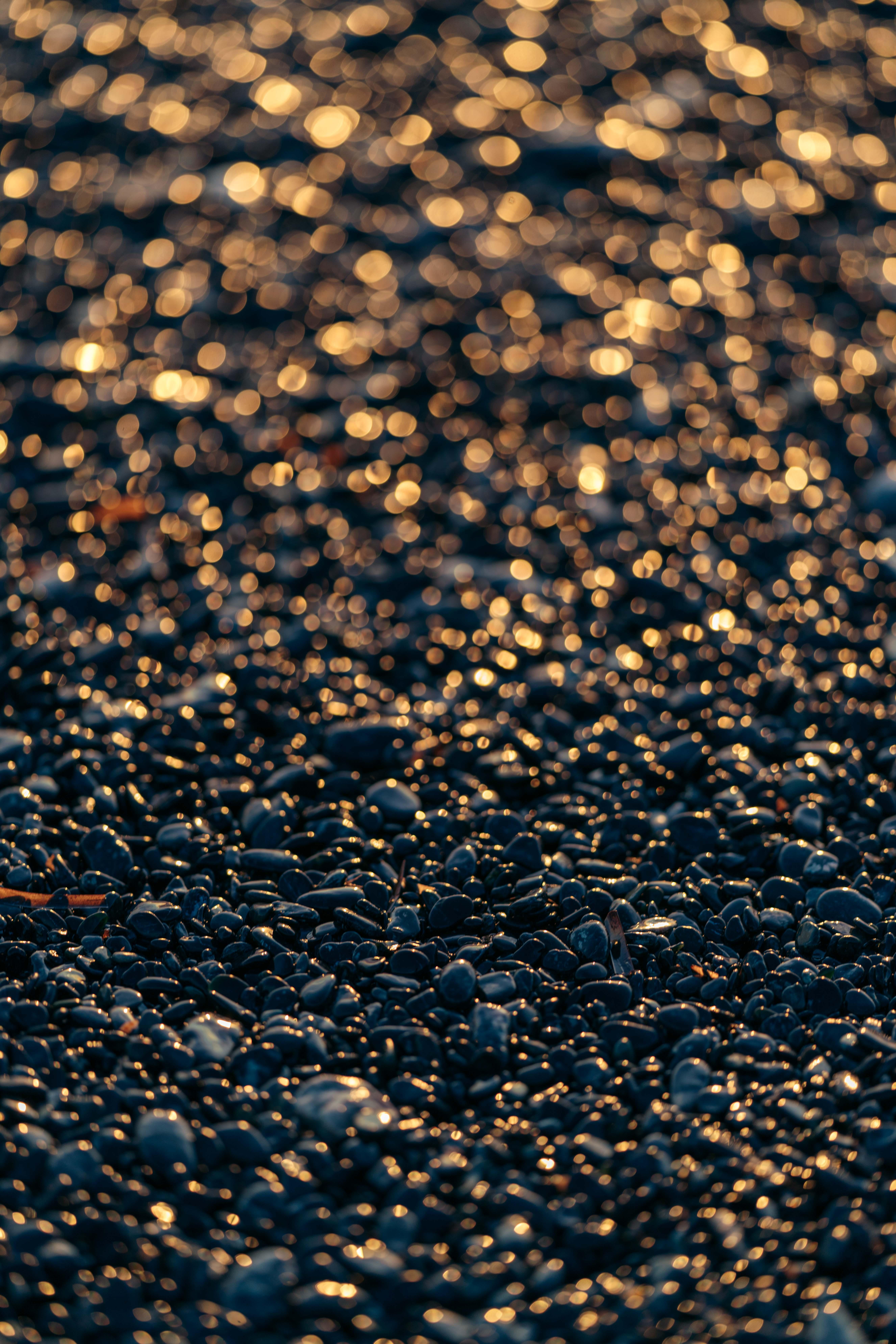 czarna plaża korsyka
